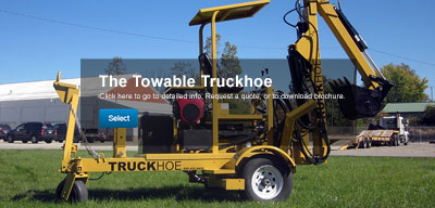 the towable Truckhoe